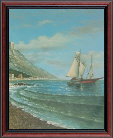 Landscape Oil Portrait