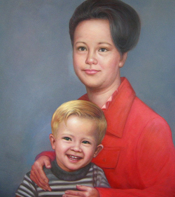 Family Oil Painting Gallery
